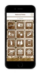 Chimani parks app