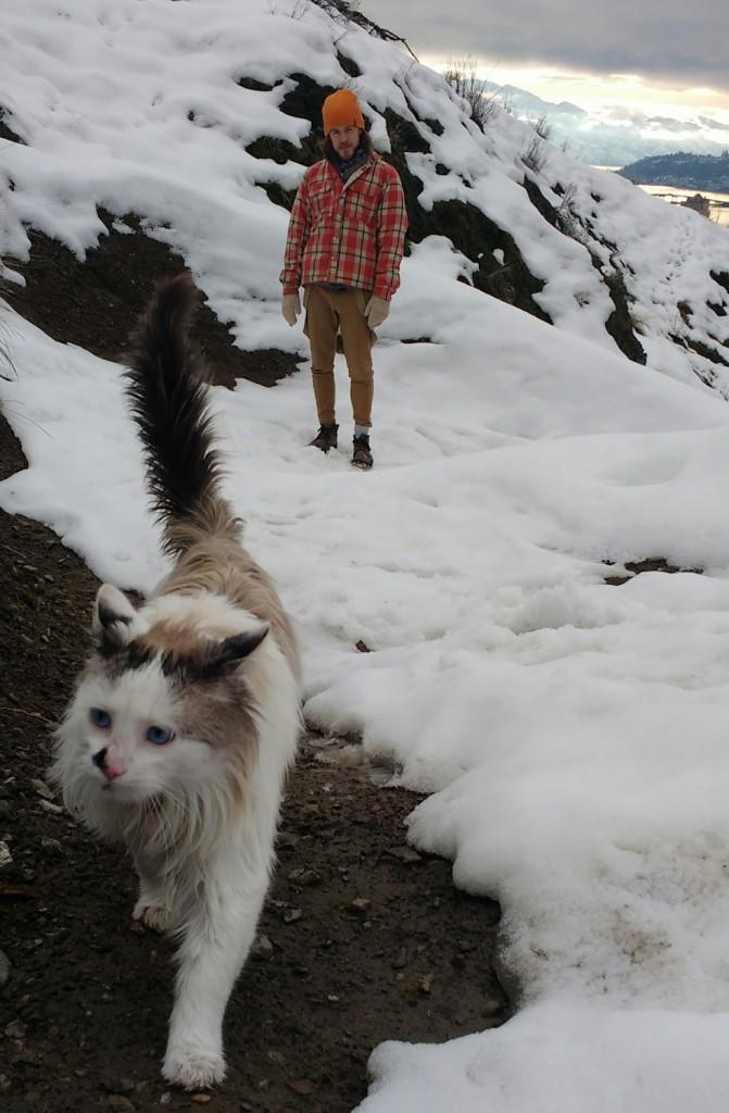 Scraggles takes the lead in Kelowna, British Columbia, Canada. (Photo: Cara Christiansen/Instagram)