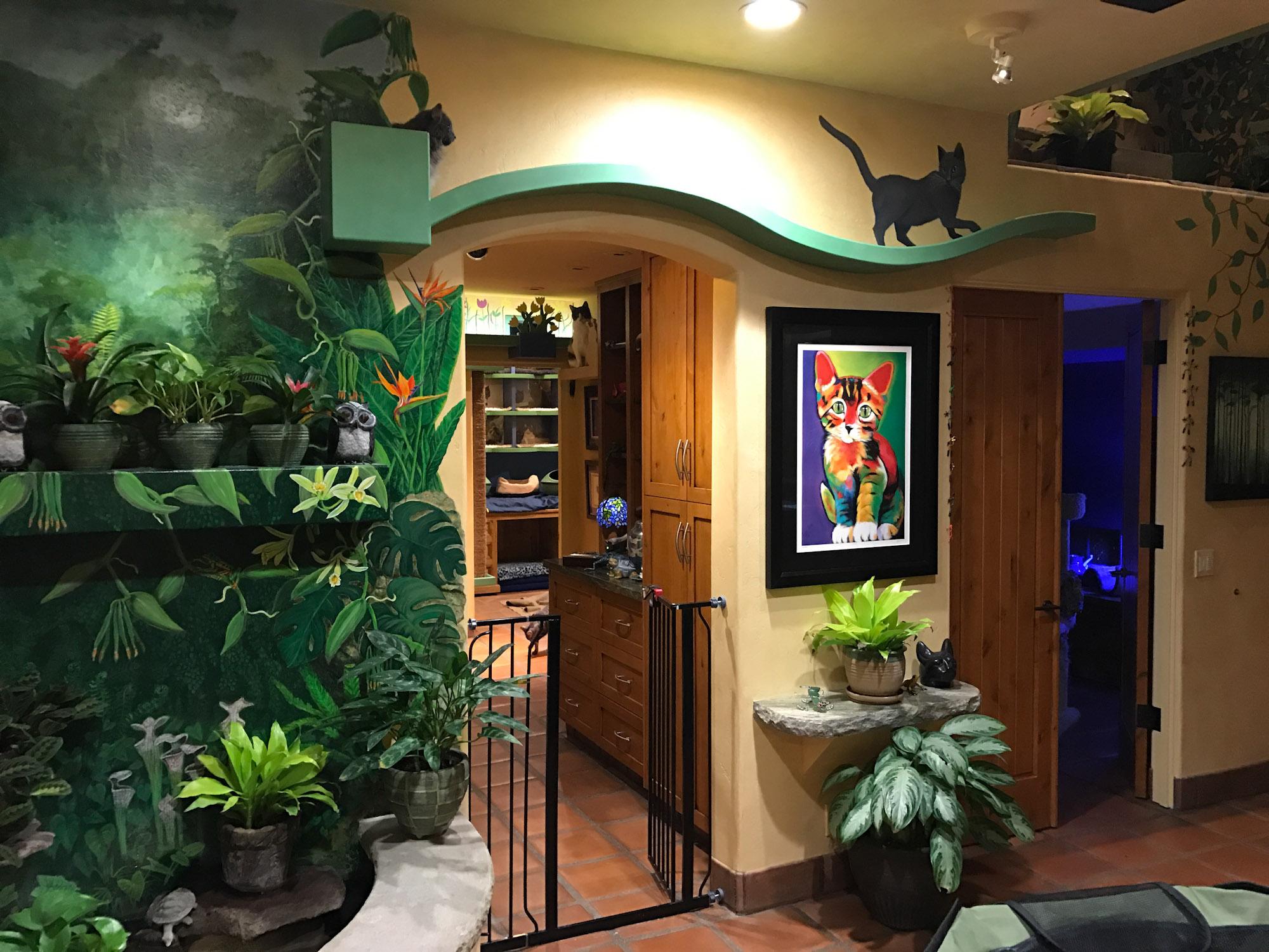 Peter Cohen cat house